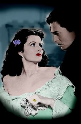 Margaret Lockwood and James Mason in the classic British movie 'The Wicked Lady' (1945)
